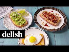 Best Sweet Potato Toast - Delish.com