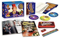 Willy Wonka & the Chocolate Factory (Three-Disc Anniversary Collector's Edition Blu-ray/DVD Combo) Wonka Chocolate Factory, Blu Ray Collection, Willy Wonka, Roald Dahl, 40th Anniversary, Happy Saturday, Happy Weekend, Candyland, The Collector