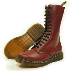 Awesome New Dr. Martens Original Adult\'s 1914 Cherry Red 11855600 8 UK Best Deals