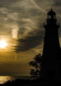 Turbulent Marblehead Lighthouse, Massachusetts