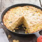 Try the Cheese and Chile Skillet Cornbread Recipe on williams-sonoma.com/