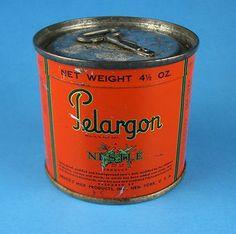 LECHE INFANTIL PELARGON. NUEVA YORK 1947. NESTLÉ -  AMERICAN MILK TIN