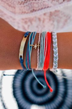 Add a pop of color  Pura Vida Bracelets
