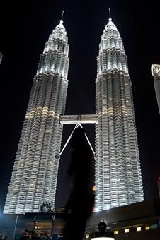 The Patronas Twin Towers stand illuminated before its lights are turned off to mark Earth Hour in Kuala Lumpur, Malaysia Malaysia Trip, Malaysia Travel, Tower Stand, Earth Hour, Celebration Around The World, Famous Buildings, Kuala Lumpur, Towers, Places Ive Been