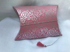 Pink # 6 Collapsible Pouch Card Case, Pouch, Pink, Porch, Hip Bag, Roses