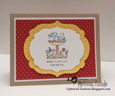 Uptown Creations- Stampin' Up! Independent Demonstrator: For the Birds!
