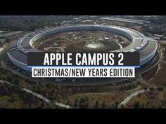 ▶ ••Apple Mothership Campus II: Construction update 2016-12-26 from Drone ; )•• 3:32min bird's eye view video from drone DJI Phantom 3 Pro by Matthew Roberts • see video Dec 16 3:57min https://www.pinterest.com/pin/269160515209666675 + Oct https://youtu.be/IWs6VimzsyU + Sep https://youtu.be/kFQsu5bdPXw + big change from 2015-09 https://www.pinterest.com/pin/269160515206858352