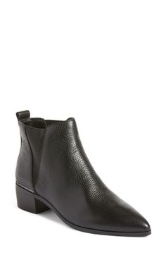 Free shipping and returns on Treasure & Bond Easton Chelsea Bootie (Women) at Nordstrom.com. Available in suede or genuine calf hair, this svelte Chelsea boot features a trend-right pointy toe and block heel, while elastic-gore panels perfect the fit.When you buy Treasure & Bond, Nordstrom will donate 2.5% of net sales to organizations that work to empower youth.
