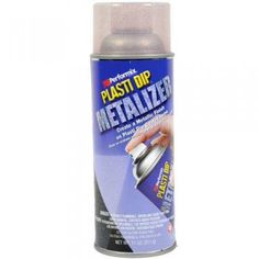 Plasti Dip® Aerosol Red Metalizer Plasti Dip® Aerosol Red Metalizer, it enhances the look by adding a shimmering, metallic finish while letting the color of the base Plasti Dip® show through. Dips, It Is Finished, Personal Care, Red, Metallic, Base, Color, Products, Sauces