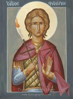 'St Phanourios' by ikonographics Queer Art, Orthodox Christianity, Art Icon, Orthodox Icons, Art History, Catholic, Saints, Prayers, Religion