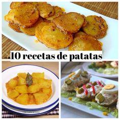 10 recetas de patatas