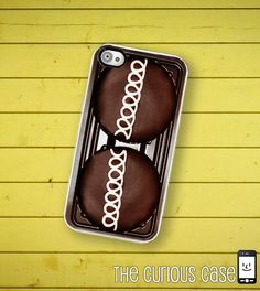 iPhone Case Chocolate Cupcake / Hard Case For by TheCuriousCaseLLC, $17.99  why can't they have this for androids!?!?!?
