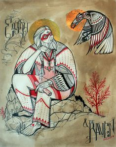 "Image of David Hale - ""Elijah & the Raven"""