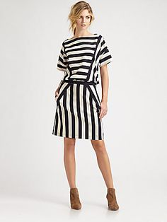 Marc by Marc Jacobs Scooter Stripe Dress