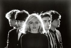 Blondie Debbie Harry New Wave Punk Band Glossy Music Black & White Photo Print Picture