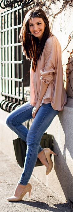 Dusty Pink and Denim.