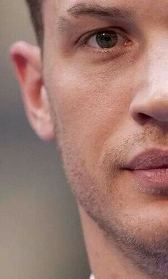 I love that he purposely shaves that gap on his eyebrow