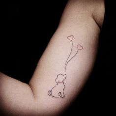 Small dog tattoos, tattoos of dogs, time tattoos, tatoos, body art tattoos Delicate Tattoo, Subtle Tattoos, Trendy Tattoos, Popular Tattoos, Love Tattoos, Body Art Tattoos, Tribal Tattoos, Tatoos, Small Dog Tattoos