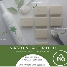 #handmade #soapcoldprocess #savonafroid #madeinquebec #faitmain Facial Tissue, Soap, Personal Care, Instagram, How To Make, Handmade, White Clay, Soap Shop, Fragrance