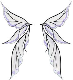 Fairy Wings Drawings | Fairy Wings Colored by Himwath