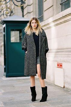 Vanessa Jackman: Paris street style