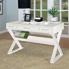 Bicknell Writing  Desk - for my side of the bed!
