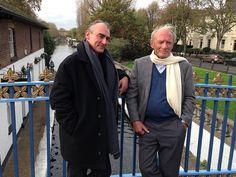 Jean Van Hamme et Philippe Francq / Little Venice - See more at: http://blog.dupuis.com/exclu/largo-winch-voyage-de-presse-londres-6-nov-2014