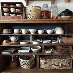 Kitchen/DIY/古道具/漆喰壁/見せる収納/暮らしの道具...などのインテリア実例 - 2017-02-06 02:13:27 | RoomClip (ルームクリップ)