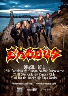 HeadbangerVoice: Exodus: vocalista envia 'assustadora' mensagem aos...