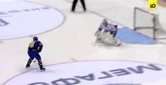 Awesome Hockey Goal (Gif),  Click the link to view today's funniest pictures!