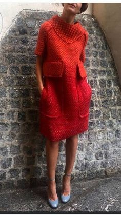 Crochet Dress India Knitted Dress New Look Knit Fashion, Look Fashion, Winter Fashion, Womens Fashion, Look Boho, Winter Mode, Mode Vintage, Mode Inspiration, Fall Winter Outfits