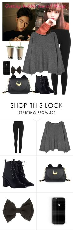 """""""-Getting bubble tea-"""" by daddyslittlestprincess ❤ liked on Polyvore featuring Polo Ralph Lauren, The Row, Zimmermann and Usagi"""