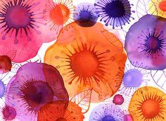 Margaret Berg : florals / spring: Rosebush
