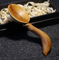 HOJNOST - ABUNDANCE - Original wooden spoon from Plum wood