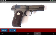 Mechanical of the Colt pocket hammerless 1903 - 1908 - Android APP - HLe...