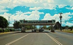 Gate at Fairchild Air Force Base as I remember it. Military Brat, Military Careers, Air Force Bases, Us Air Force, Survival School, Airforce Wife, Before Us, Jets, Places To Travel