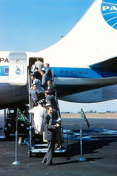 Pan Am Boeing 707, 1960 Summer Olympics, Rome, Italy