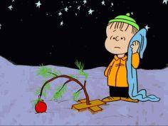 christmas trees,charlie brown,gifs,peanuts