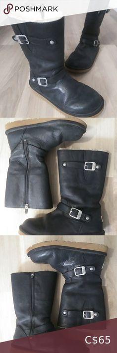 Ugg Classic Short Boot, Ugg Classic Tall, Ugg Leather Boots, Knit Boots, Tall Brown Boots, Brown Booties, Ugg Waterproof Boots, Short Boots, Ugg Shoes