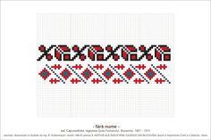 Folk Embroidery, Embroidery Patterns, Cross Stitch Patterns, Knitting Patterns, Loom Beading, Beading Patterns, Pixel Art, Loom Bracelets, Diy And Crafts