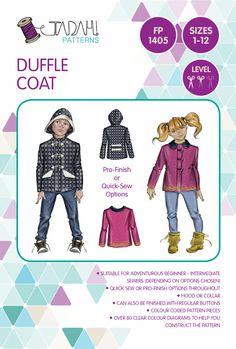 DuffleCoat-FrontCover - Tadah patterns