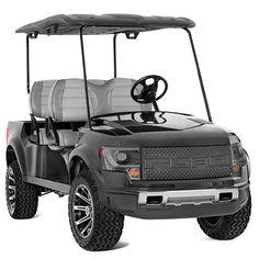 2a2762963 Big bucks for little trucks. Remember the Ford F-150 SVT Raptor golf cart