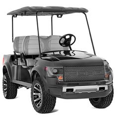 Big bucks for little trucks. Remember the Ford F-150 SVT Raptor golf cart we spotted at this year's SEMA show in Las Vegas, Nevada? Well, they are now for sale on The Ford Merchandise Store and the price tag is a little shocking.