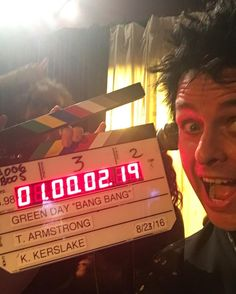 Billie Joe Armstrong from Instagram