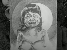 """missed mama!!"" , pencil on paper"