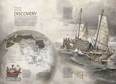 National Geographic draws in spanish National Geographic, Information Design, Dark Fantasy Art, Layout Inspiration, Graphic Design Art, Black And Grey Tattoos, Discovery, Sailing, Spanish