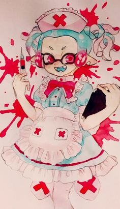 Splatoon 2 Art, Callie And Marie, Nintendo Characters, Red Sole, Anime Chibi, Manga Art, Draw, My Love, Artist