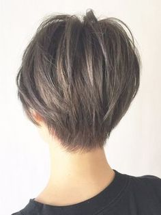 Back view ideal cut