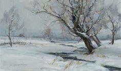 Winter Willows by Daniel Gerhartz