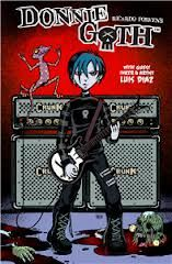 Donnie Goth comics and graphic novels are a recent entry into the Goth genre
